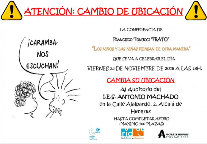 el-reconocido-psicopedagogo-italiano-francesco-tonucci-impartira-el-viernes-una-conferencia-en-el-auditorio-del-ies-antonio-machado