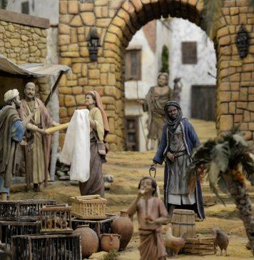 La inauguración del Belén Monumental de la Gal marca el inicio de la programación navideña de Alcalá de Henares
